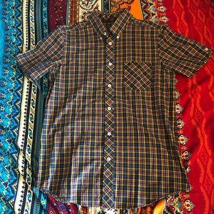 Ben Sherman Teal Plaid Shirt